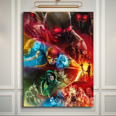 Earth X Neon - Art Print BossLogic
