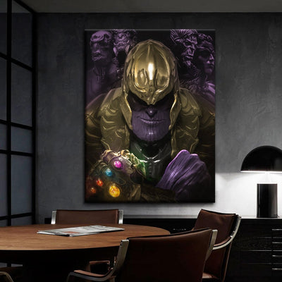 Thanos, end game by bosslogic