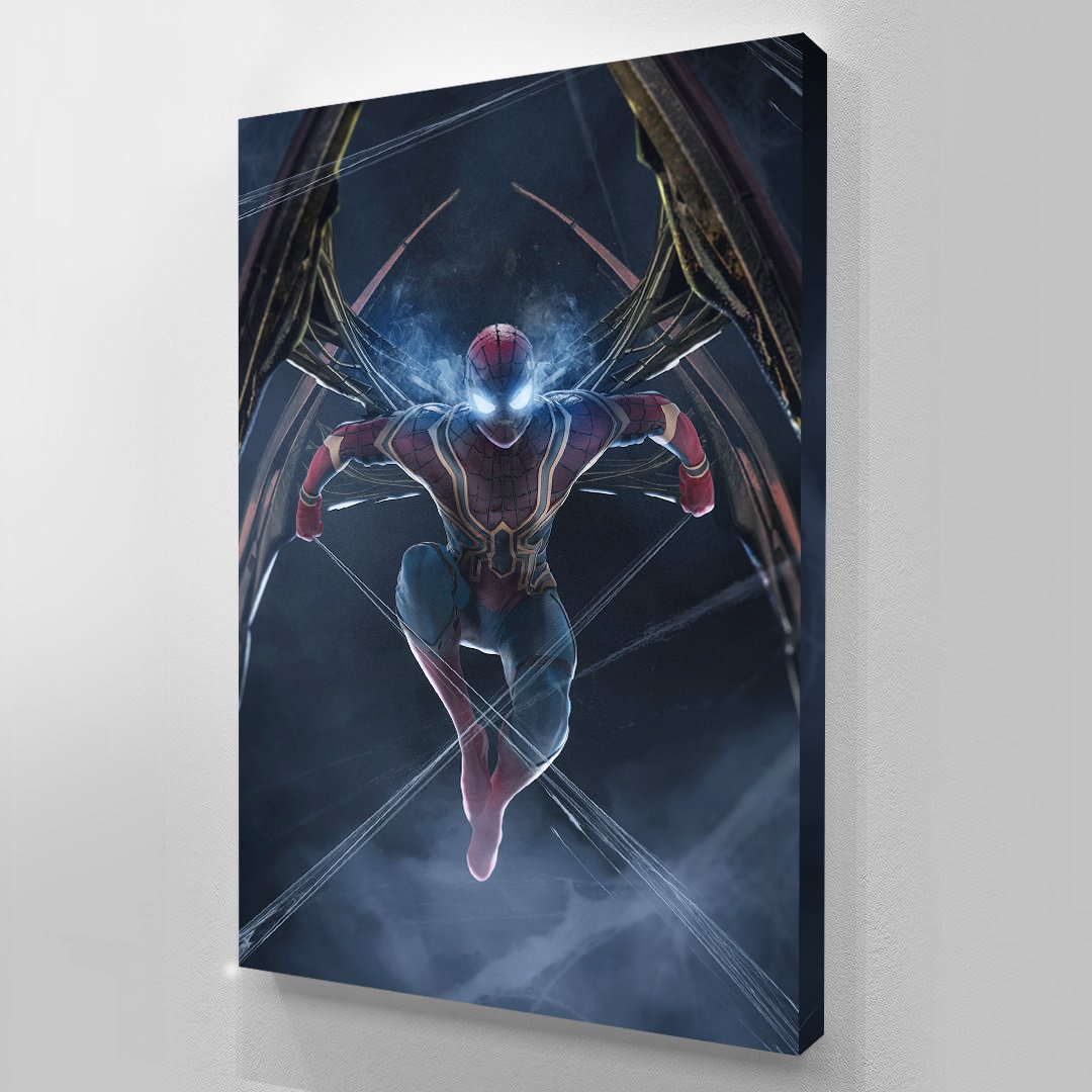 Iron Spider IW - Spider-Man - Art Print BossLogic