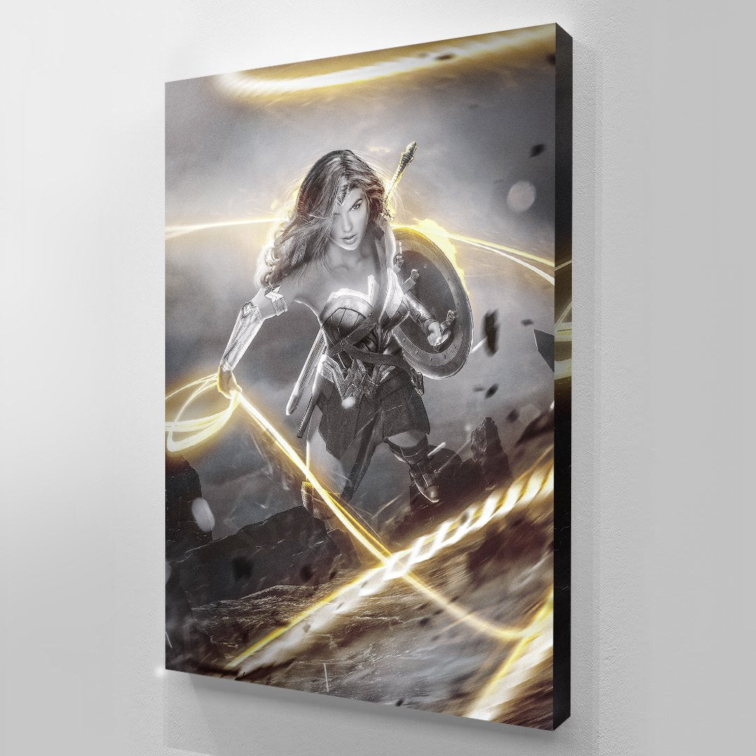 Goddess Of Justice - Wonder Woman - canvas BossLogic
