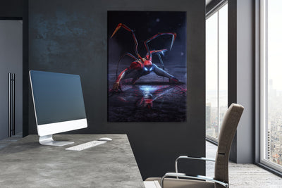 Spider man canvas bosslogic
