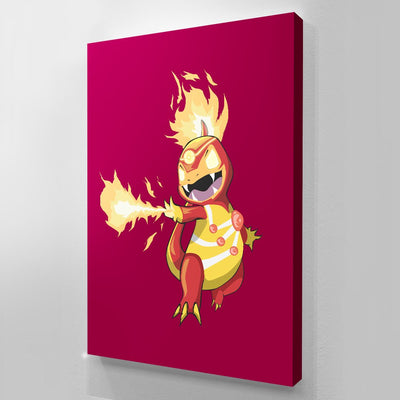 Charmander - Art Print BossLogic