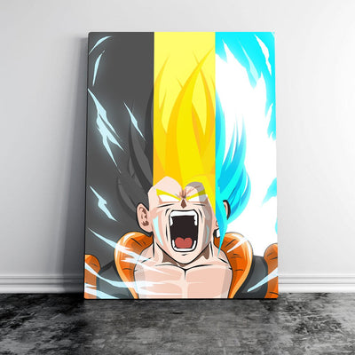Levels - Gogeta Dragon Ball - Art Print BossLogic