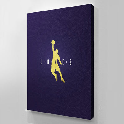 Lebron JAMES canvas BossLogic