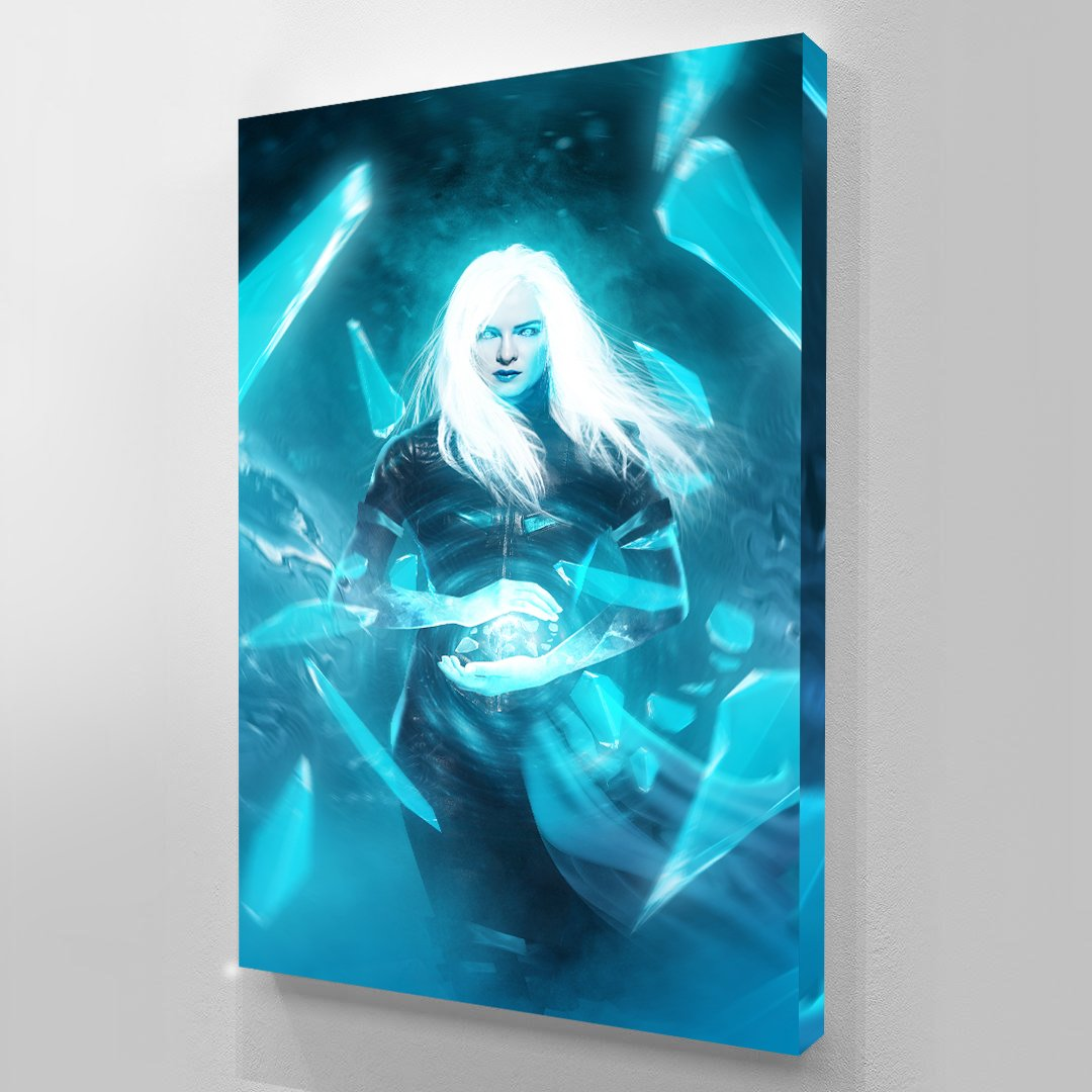 Killer Frost - Art Print BossLogic