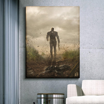 Thanos, end game canvas by bosslogic