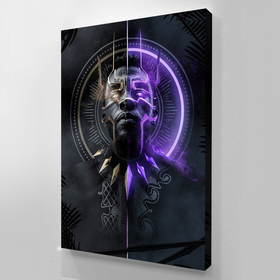 Black Panther canvas bosslogic