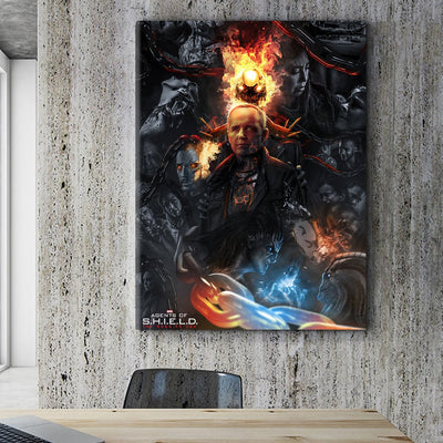 Agents of SHIELD canvas bosslogic