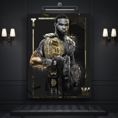 Tyrone - UFC - Art Print BossLogic