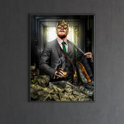 Conor McGregor canvas bosslogic