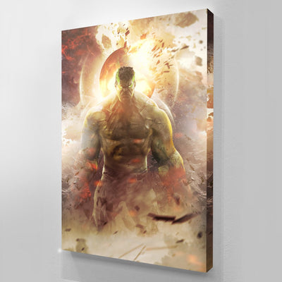 HULK WORLD DESTROYER canvas BossLogic