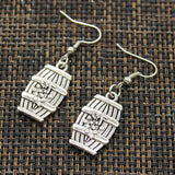 Earrings - Wine Barrel, Wine Glass, or Wine Bottle