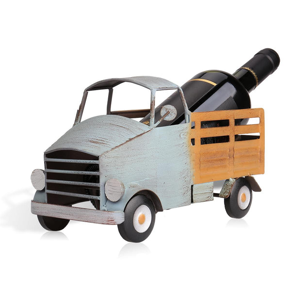 Old-Fashioned Pickup Truck Wine Bottle Holder