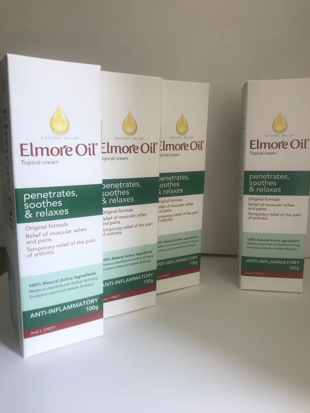 ELMORE OIL CREAM 100gm - BUY 3 + GET 1 FREE - SAVE $ 20.95