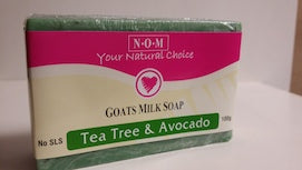 TEA TREE & AVOCADO GOATS MILK SOAP  - 100gm