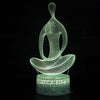 Peaceful Aura 3D Meditation Lamp