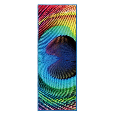 Peacock Feather - Non-Slip Thick & Soft Yoga Mat