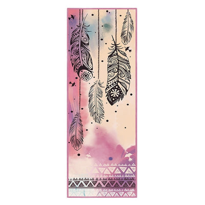 Boho Spirit Feather - Non-Slip Thick & Soft Yoga Mat