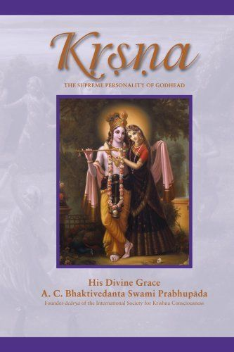 The Krsna Book - Divine Trancendental Pastimes - Spiritual sweetness (Hardcover)