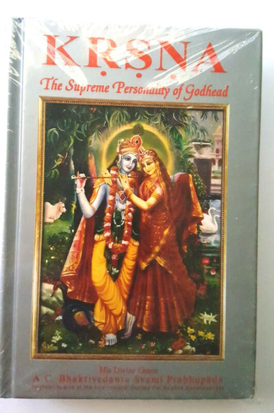 The Kṛṣṇa Book (Large Hardcover), Divine Transcendental Pastimes - Spiritual Sweetness