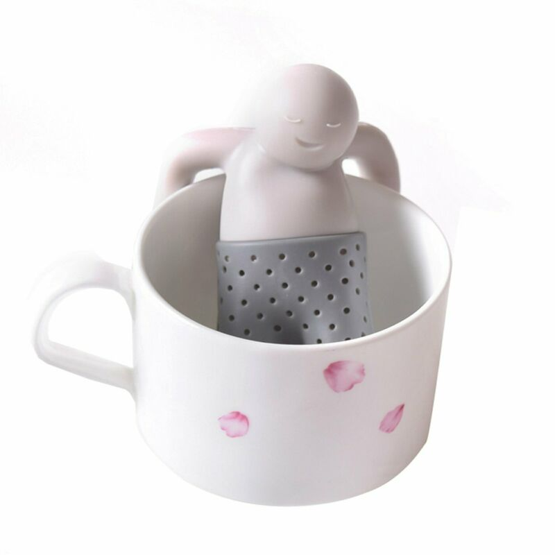 Little Relaxed Tea Buddy, Silicone Loose Tea Infuser