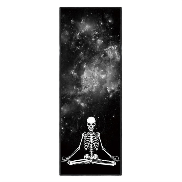 Spiritual Skeleton - Non-Slip Thick & Soft Yoga Mat