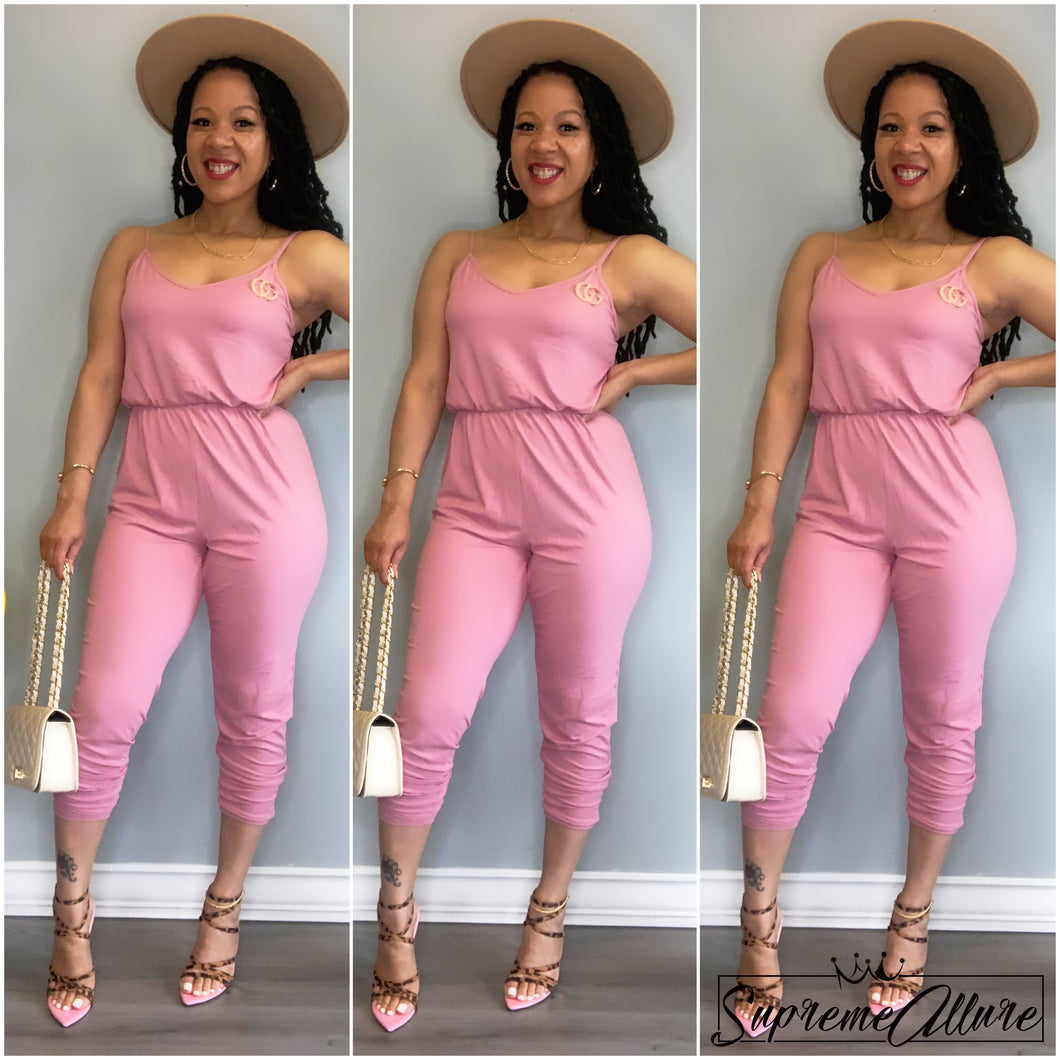 Nylah Jumpsuit - Pink