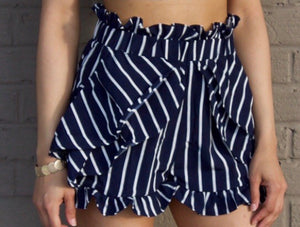 Stripe Me Down Shorts