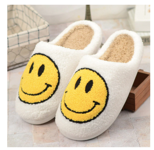 Smiley Face Slippers