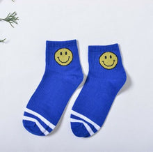 Load image into Gallery viewer, Smiley Sweat Socks