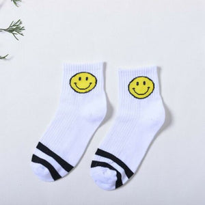 Smiley Sweat Socks