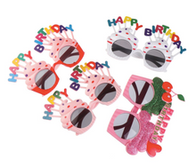 Load image into Gallery viewer, Happy Birthday Cupcake Sunglasses
