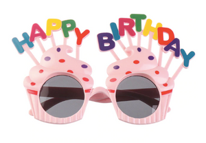 Happy Birthday Cupcake Sunglasses