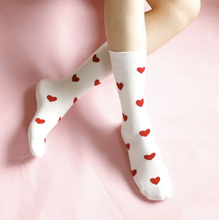 Load image into Gallery viewer, Heart Socks