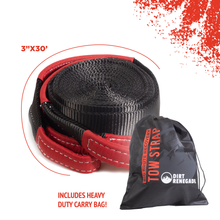 Load image into Gallery viewer, Complete Recovery Kit - 30ft Tow Strap & Shackle Kit