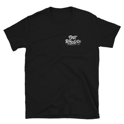 Dirty Renegade Square Logo T-Shirt - Black - 100% ring-spun cotton