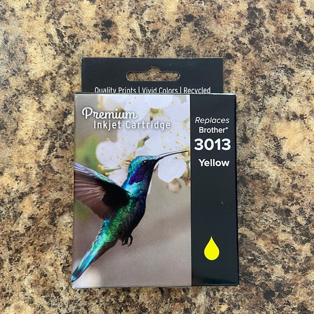 Florida Toners Brother LC3013 Yellow Ink
