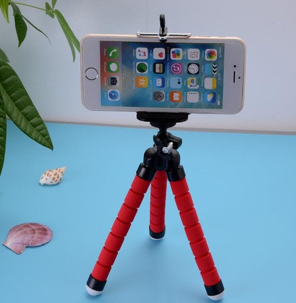 Phone Holder Flexible Octopus Tripod