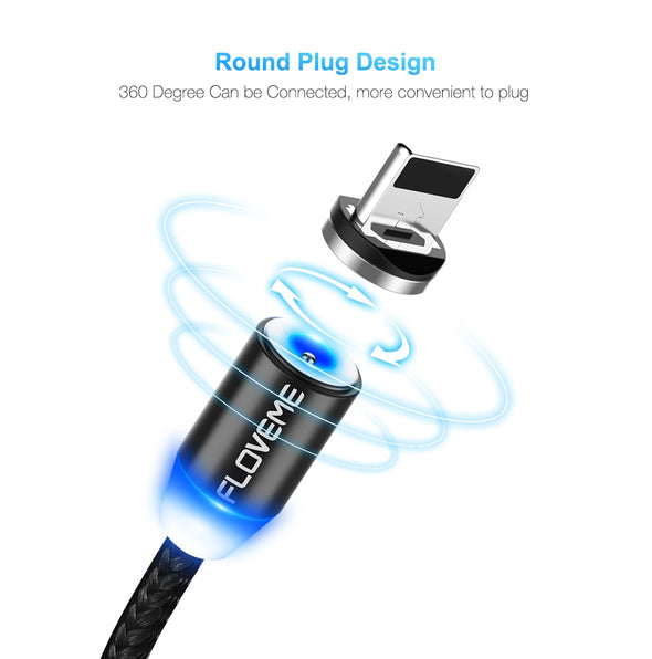 Magnetic Charging Phone Cable