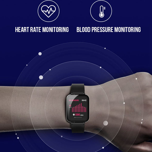 Smart Watch - Waterproof, Heart Rate Monitor