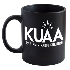 Donate $35 and receive this Cool KUAA Mug
