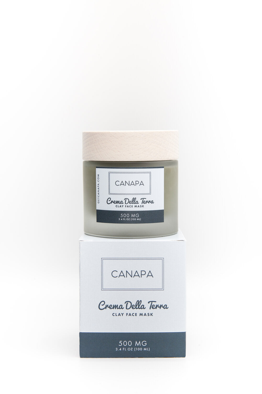 Canapa Crema Della Terra (Clay Face Mask) 500 mg CBD - Free State Collective CBD