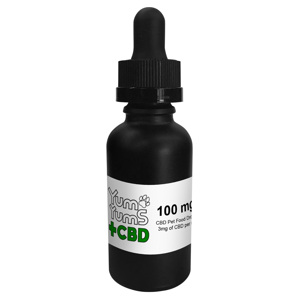 "Willy's ""Wacky Tobacky""  Pet Tincture Drops (made w/ CBD isolate) - Free State Collective CBD"