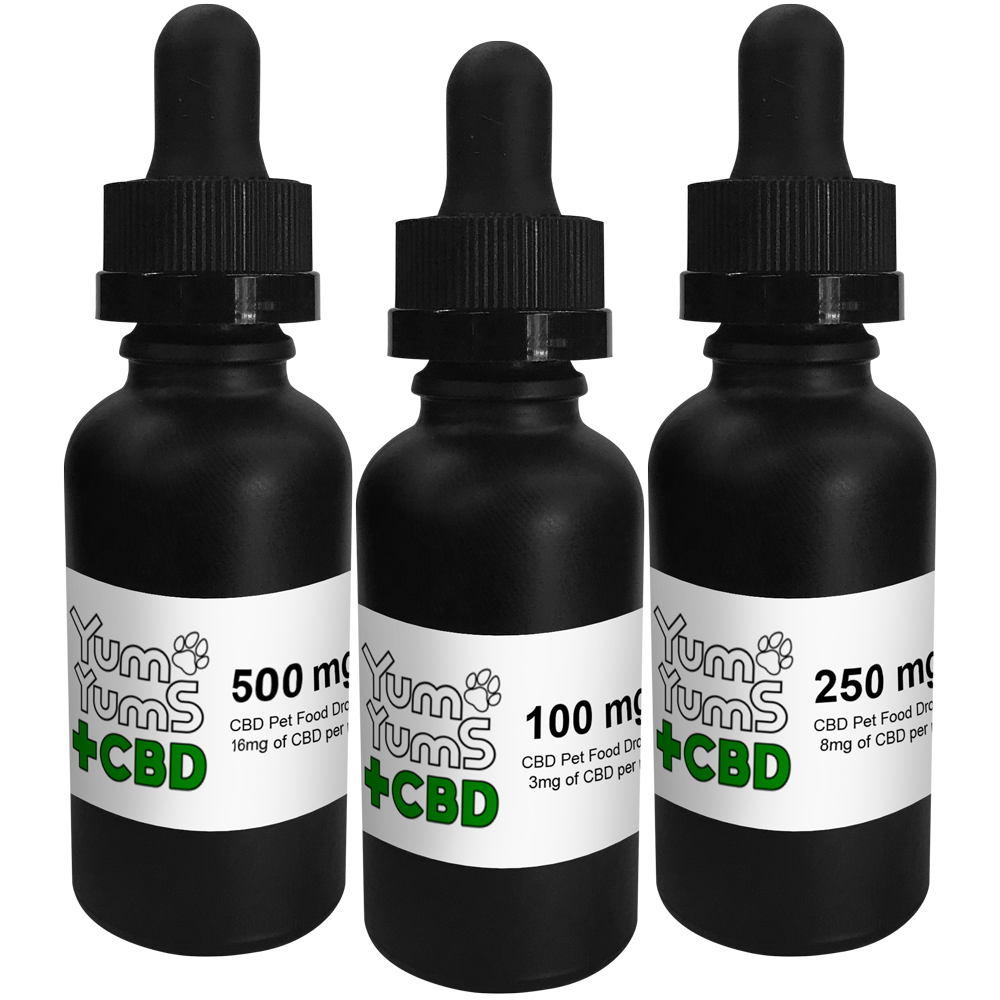 Yum Yums - Pet Tincture Drops - Free State Collective CBD