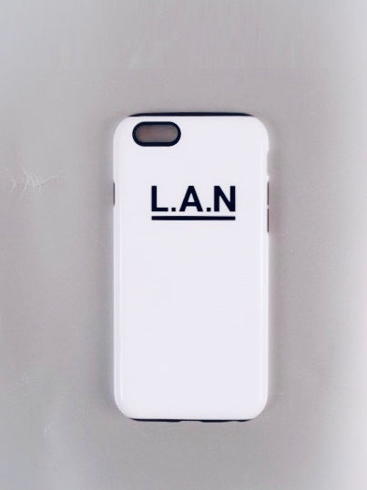 COQUE iPhone 7/8 L.A.N WHITE