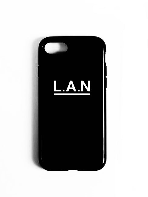 COQUE iPhone 7/8 L.A.N BLACK