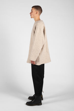 FLEECE OVERSIZED TUNIC