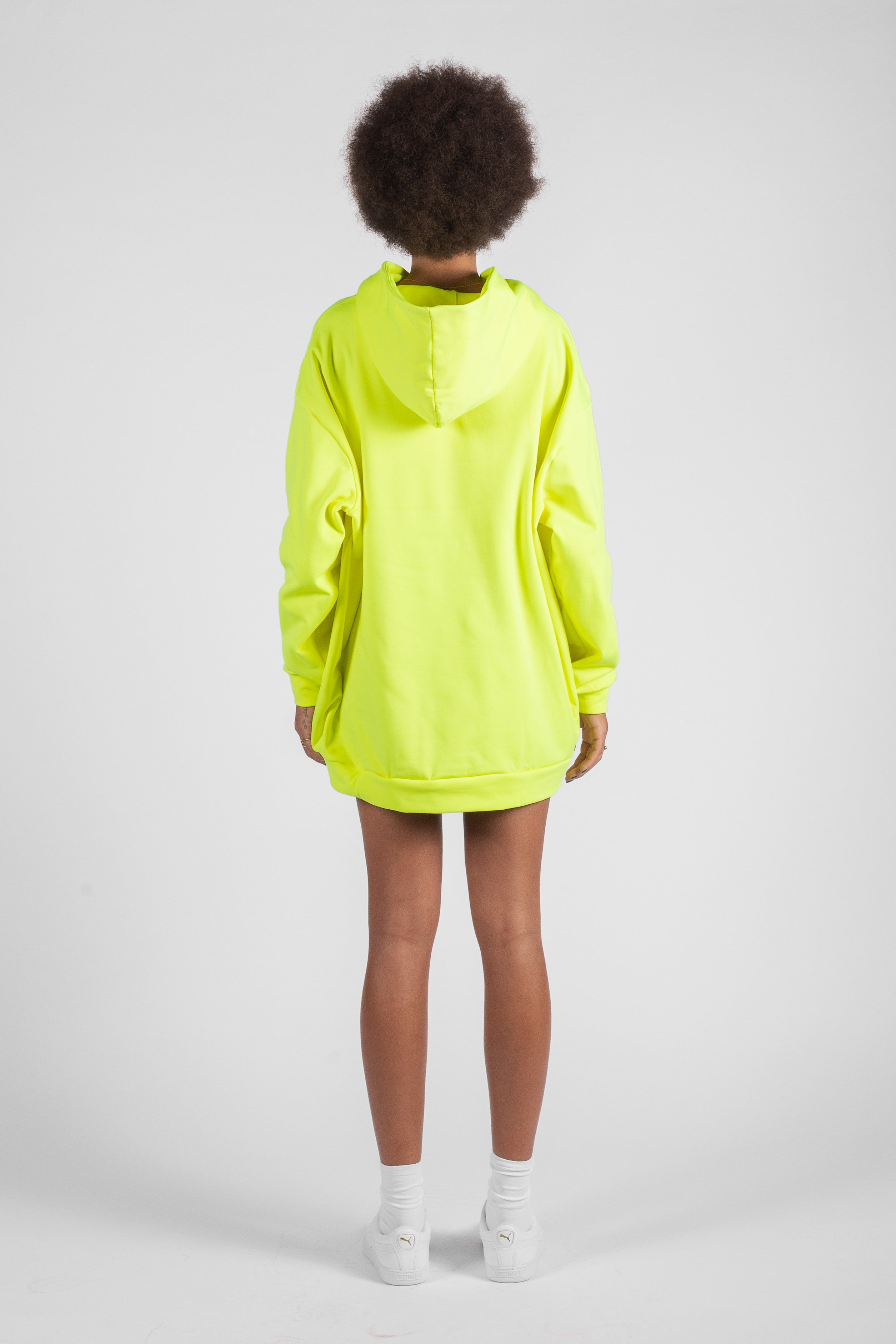 NEON HOODIE ELECTRIC YELLOW