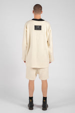 RAW FLEECE OVERSIZED TRACKSUIT