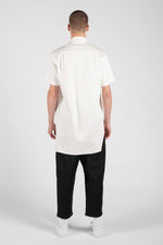 SMOOTH SHORT SLEEVES WHITE SHIRT